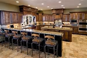kitchen with island and peninsula custom kitchen with peninsula and island cabinet
