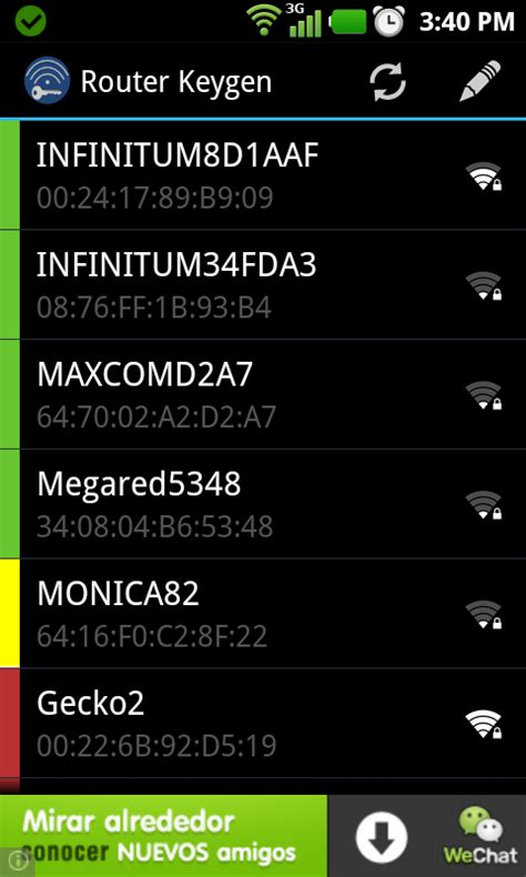 router keygen apk claves wifi router keygen 3 5 1 descifra claves wifi desde tu android apk