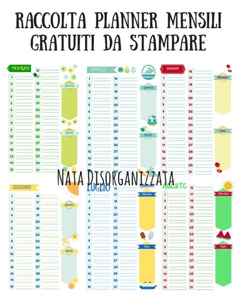 orari happy casa nata disorganizzata refill gratuiti per l agenda planner
