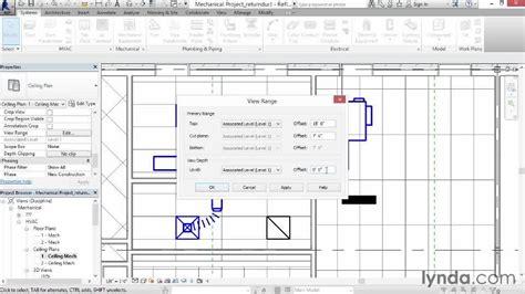 tutorial revit mep 2014 adding return duct from the course revit mep 2014