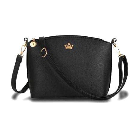 Tas Notebook Wanita tas selempang wanita imperial crown black jakartanotebook