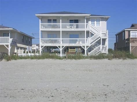 Oceanfront Pet Friendly House Cherry Grove North Myrtle Cherry Grove Houses For Rent