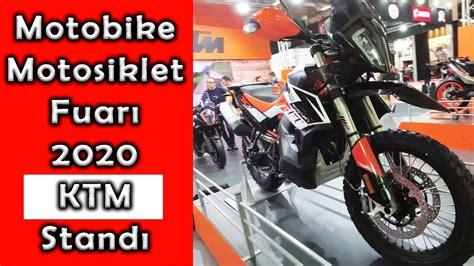 motobike istanbul  ktm standi motosiklet fuari