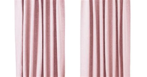 Ikea Linen Curtains Ikea Aina Pink Linen Curtains This Ones For The Pinterest Linen Curtain Linens And