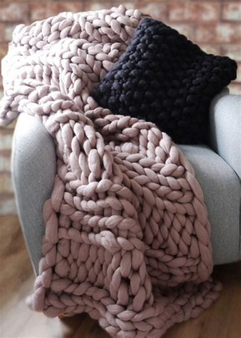 knitting pattern throw chunky 98 best knit hygge giant jumbo images on pinterest