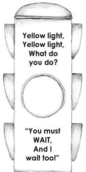 Sight Word Book: The Stop Light by Teaching Reading Made