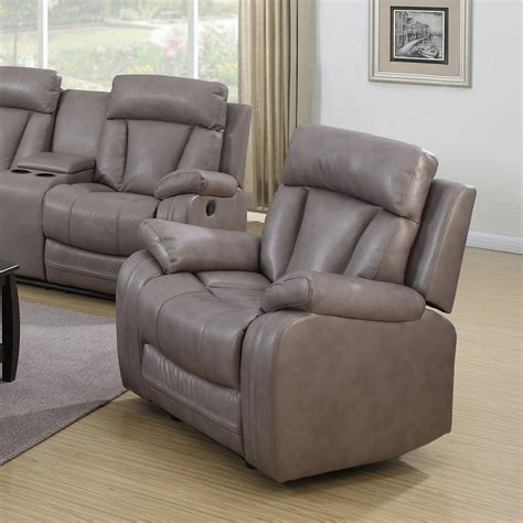 modesto sofa modesto 3 pieces reclining leather air sofa set gray