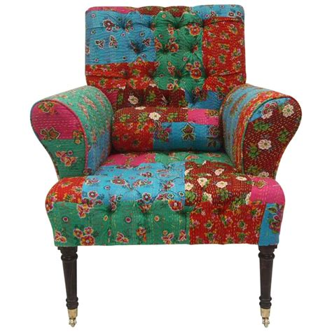 Patchwork Armchair by Patchwork Armchair Multi