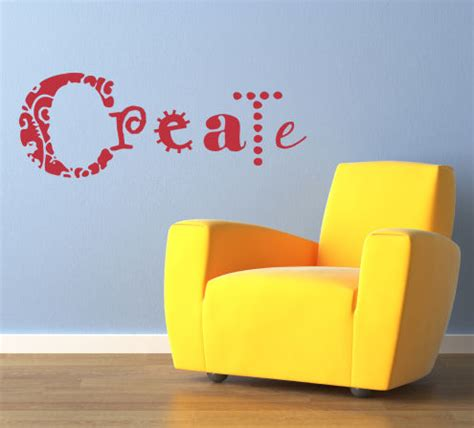how to make wall stickers simply words create beautiful wall decals