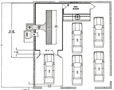 layout car repair workshop shop layout