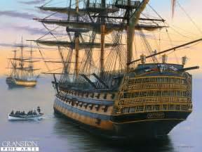 hms victory naval art prints