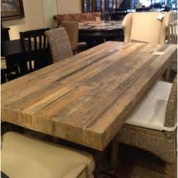 Dining Room Tables Made From Reclaimed Wood Reclaimed Wood Dining Table For The Home