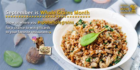whole grains month whole grains month 2016 media kit the whole grains council