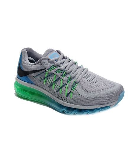 Nike Airmax Sport Shoes Import nike air max 2015 gray mesh textile running sport shoes buy nike air max 2015 gray mesh
