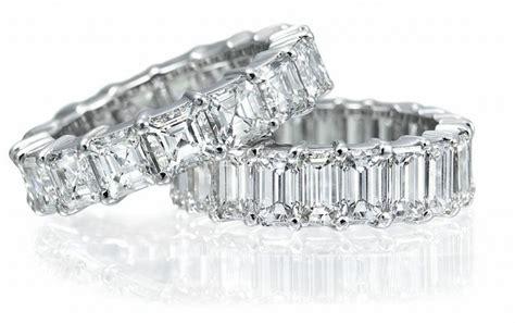 Choosing an Emerald or Asscher Cut Diamond Eternity Band