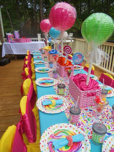 home made party decorations homemade candyland party decorations diy sweet candy decor