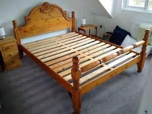 King Bed Frame Gumtree Sydney King Sized Bed Frame In Pine In Lancashire
