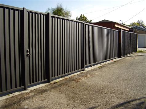 nice corrugated metal privacy fence design peiranos fences install corrugated metal privacy