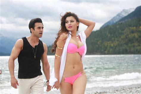 biography of movie sanam re urvashi looks hot in cold alberta
