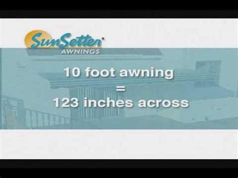 Sunsetter Awning Instructions Sunsetter Installation Wmv Youtube