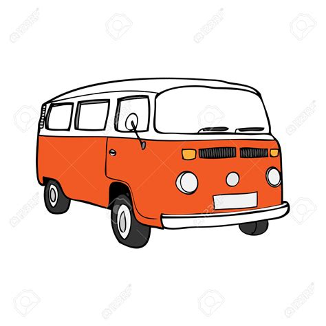 volkswagen hippie van clipart cer clipart hippie van pencil and in color cer