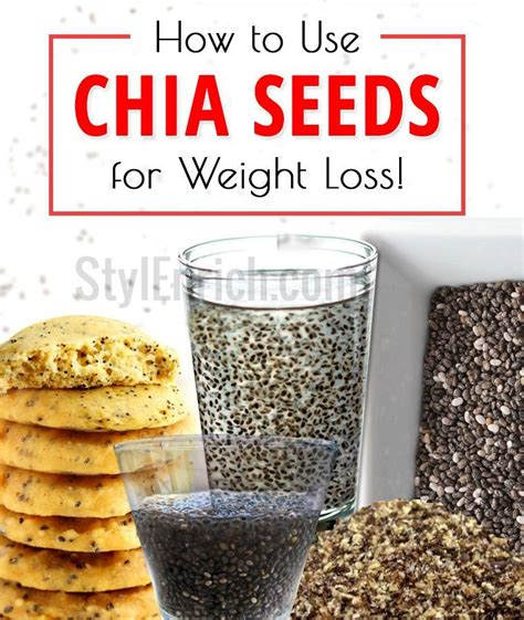 Chia Seeds Detox Lose Weight by Chia Seeds For Weight Loss How To Use Chia Seeds To Lose