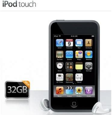 apple doubles max storage for ipod touch and iphone slashgear