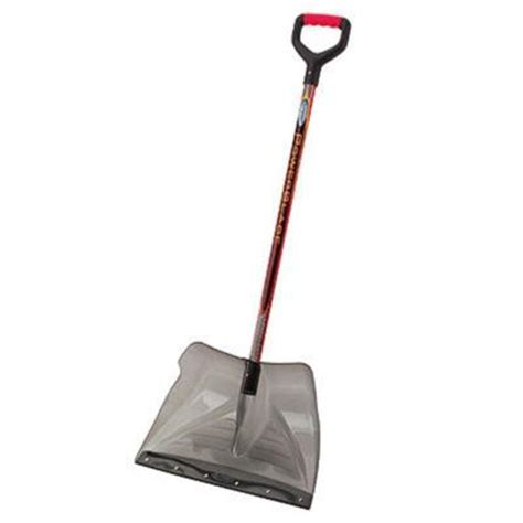 suncast 20 in polycarbonate snow shovel scp3500 the