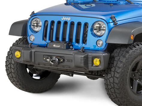 2012 Jeep Wrangler Unlimited Front Bumper Tactik 174 Front Bumper For 07 17 Jeep 174 Wrangler Wrangler