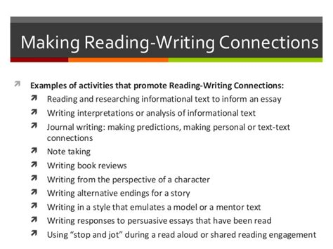 Connections Essay Exle by Elementary Education Task 1 2