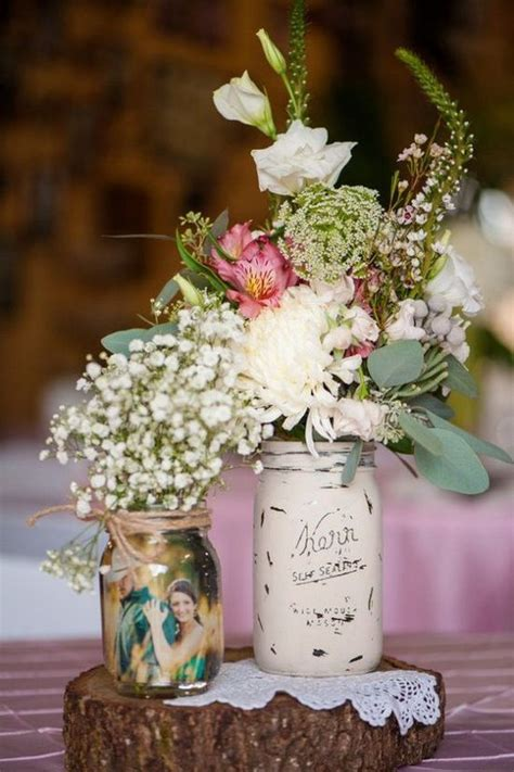 country style centerpieces best 25 country wedding centerpieces ideas only on
