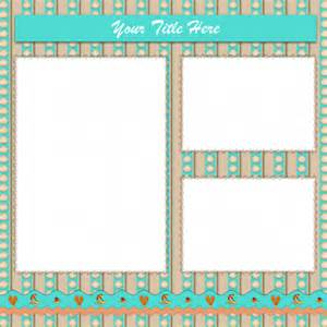Free Scrapbooking Templates To by Printable Templates For Scrapbooking Images