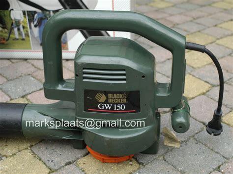 black decker gw 150 bladblazer marksplaats