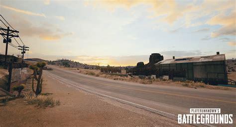 pubg desert map check    exclusive screenshots