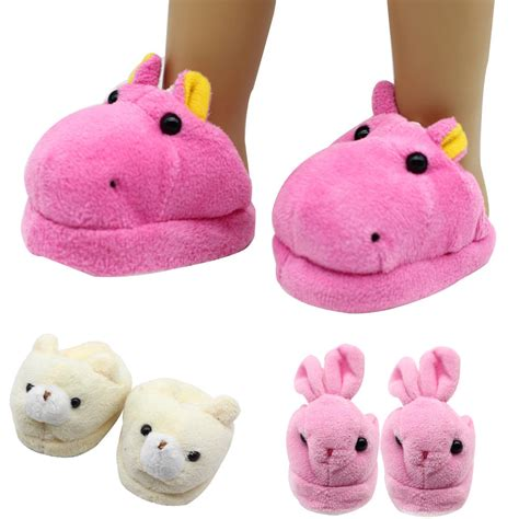 american doll slippers doll accessories slippers fit 18 quot american doll shoes