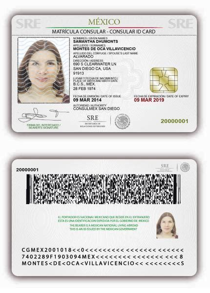 mexican id card template dmv eases path to licenses for immigrants orange county