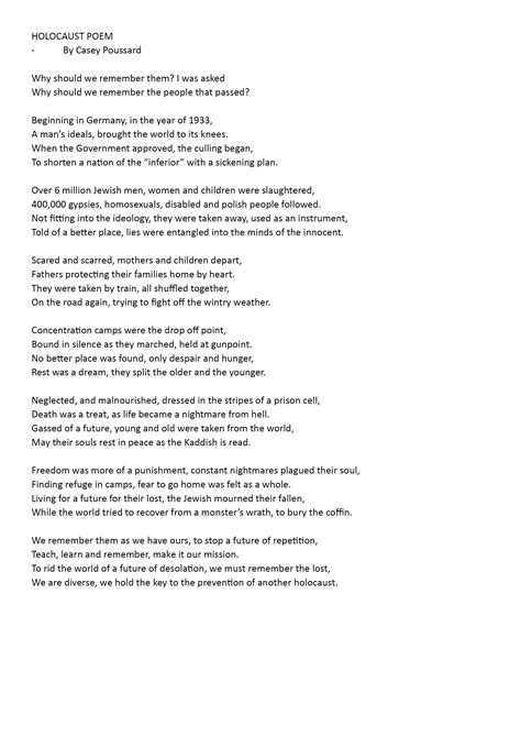poem - Courage to Care