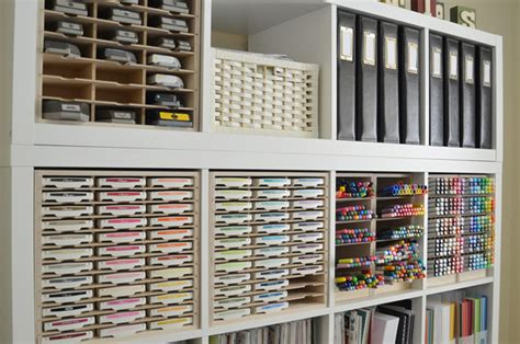 Papercraft Storage - paper craft storage in ikea shelving st n storage
