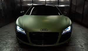 Audi R8 Matte Matte Fanatic Matte Army Green Audi R8