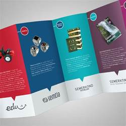 four fold brochure template 20 simple yet beautiful brochure design inspiration