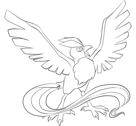 pokemon coloring pages articuno articuno coloring page free printable coloring pages