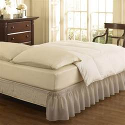 bed skirt levinsohn eyelet ruffled bedding bed skirt walmart