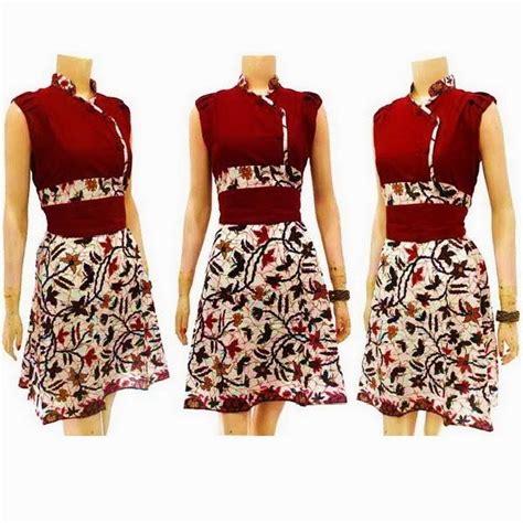 Kode 44556 Dress Style 1000 ideas about modern batik dress on batik dress kebaya and batik fashion