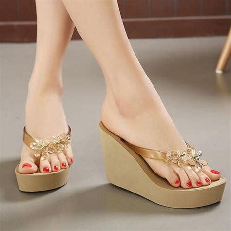 high heel slippers best 25 wedges ideas on neon high