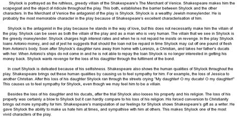Essay About Shylock The Merchant Of Venice shylock quotes like success