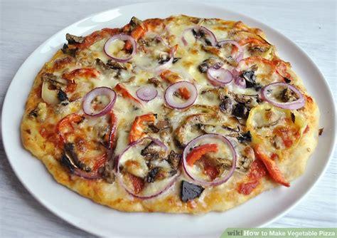 vegetables pizza vegetable pizza