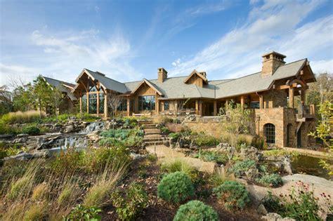 spectacular rustic landscape designs   leave