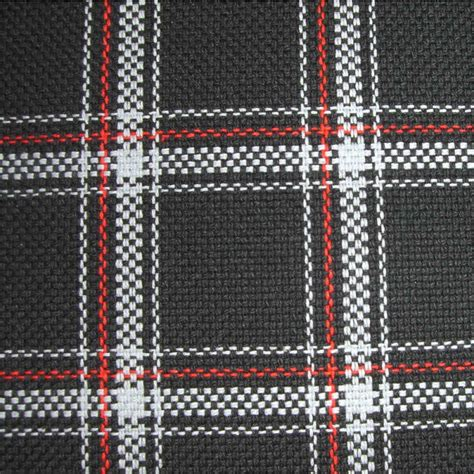 red and white upholstery fabric upholstery by linear yard white black red plaid