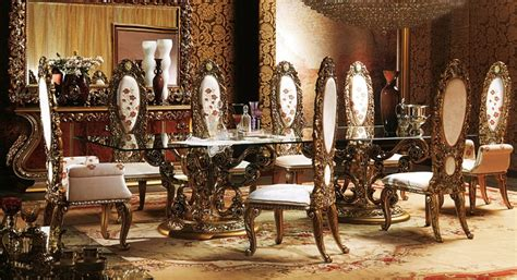 european dining room sets european style luxury imperial wood carved flower