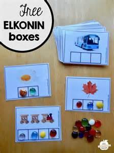 elkonin boxes template free elkonin boxes the measured